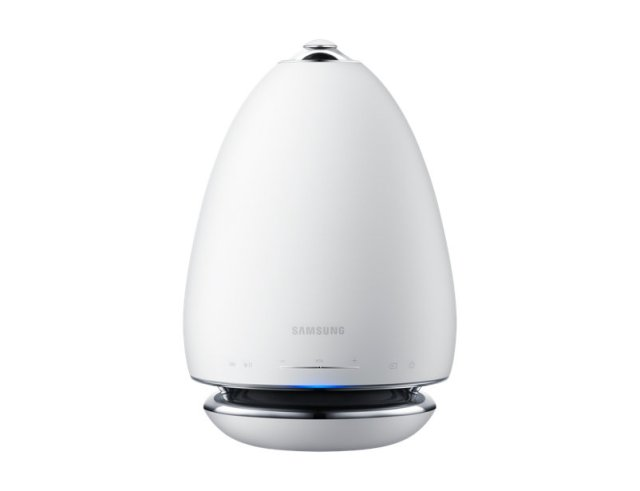 Samsung's Multiroom 360 speaker - a predecessor of a smart assistant speaker?