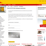 Packstation Webseite - Fake