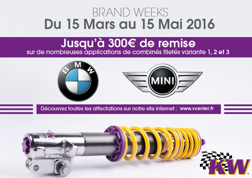 promo bmw suspensions kw v center garage entre metz et thionville. Black Bedroom Furniture Sets. Home Design Ideas