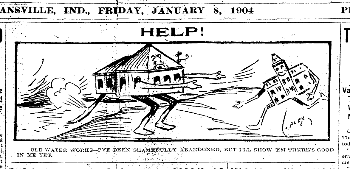 Waterworks Collapse 1904