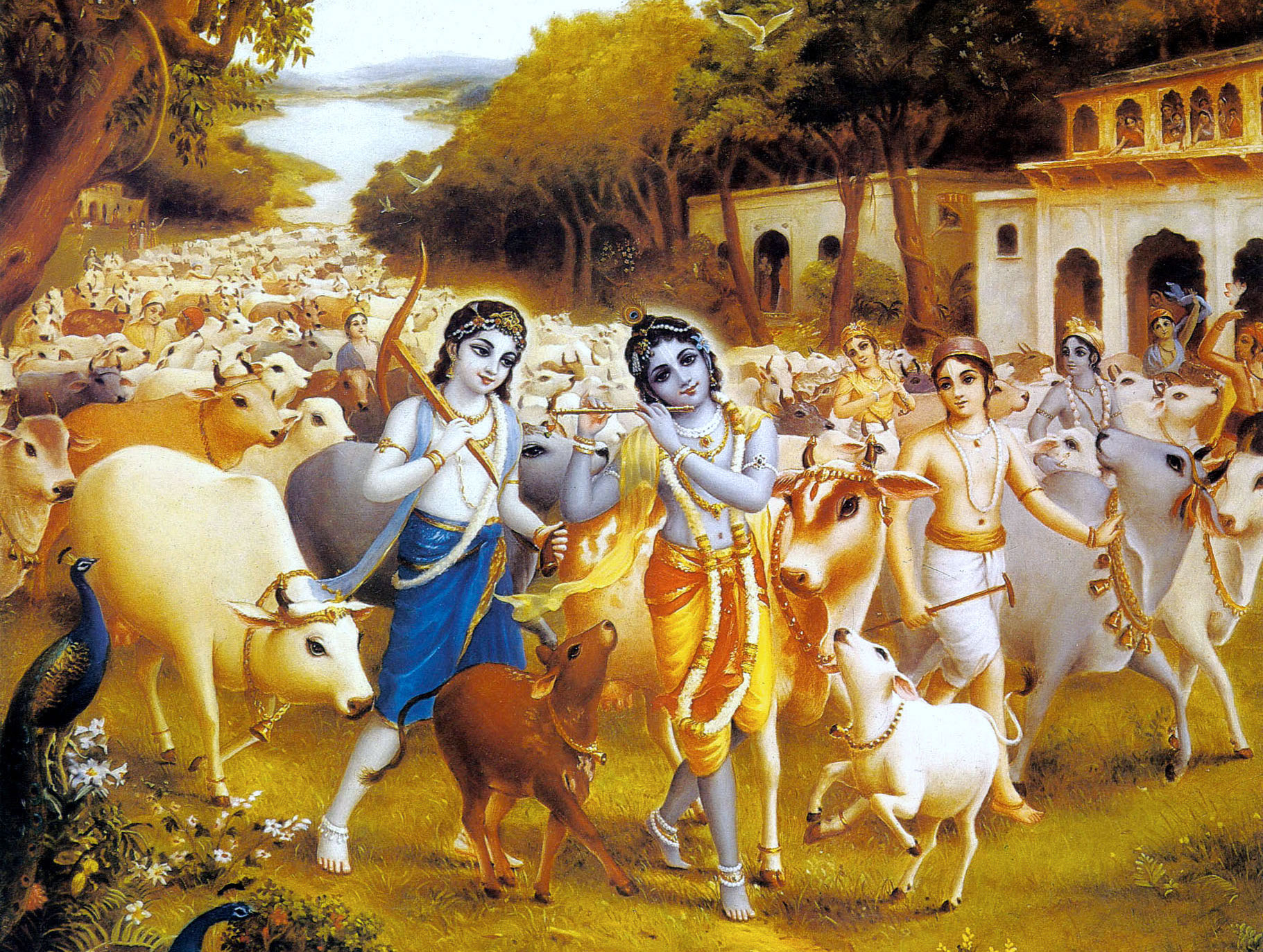 Fall Of Gods Wallpaper Gopashtami Blog