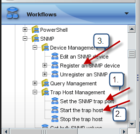 Run Workflows to setup the environment