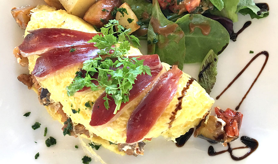 French fusion at La Plage