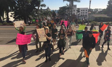 PLANET VENTURA | Mixed bag of protesters march to Ventura City Hall