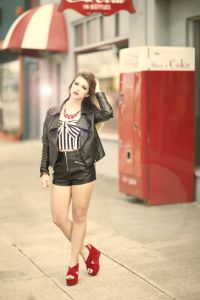 """Kelsey Becker took this photo on Thompson Boulevard by Discovery, called """"Fashion and Cola."""""""