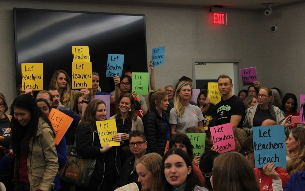 (UPDATED) PERMISSION TO READ   Conejo Valley School teachers, students fear censorship coming to classrooms via proposed book policy