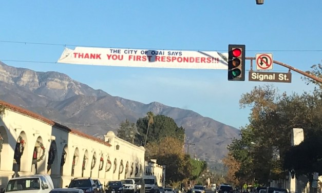 SUPPORT GROWS IN OJAI | Thomas Fire brings people together