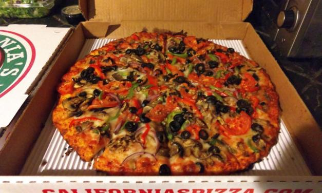 California's Pizza & Drinks serves up a movie night classic