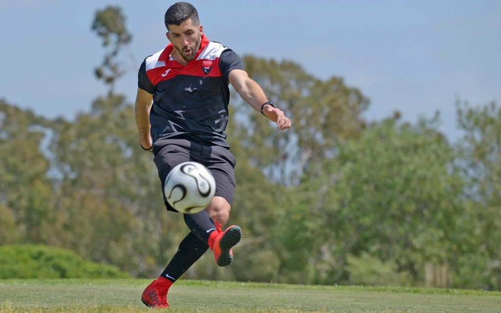 WHO'S ON FIRST   FootGolf, Tennis steal the show