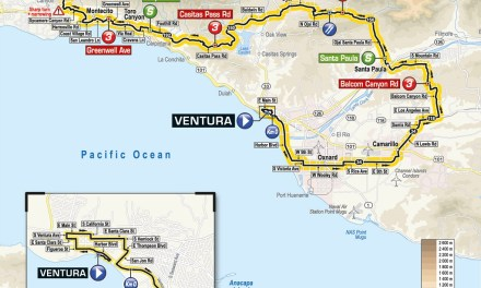 AMGEN TOUR OF CALIFORNIA STOPS IN VENTURA