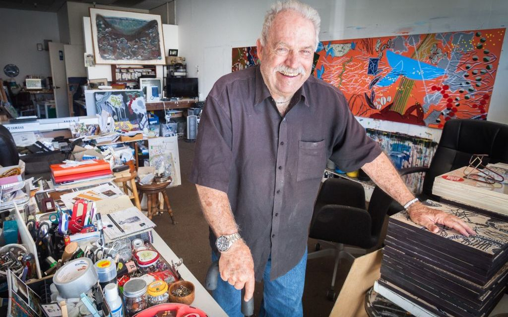 FIVE STORIES ABOUT JOHN M. WHITE | Snippets from the life and career of the ArtWalk 2018 Artist of Distinction