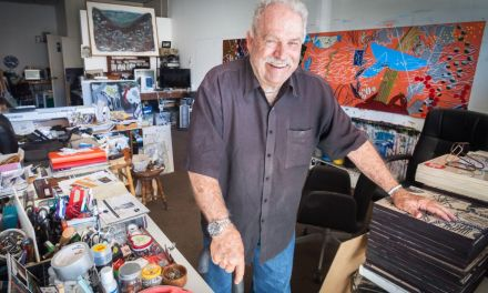 FIVE STORIES ABOUT JOHN M. WHITE   Snippets from the life and career of the ArtWalk 2018 Artist of Distinction