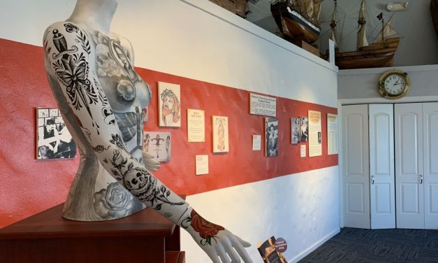 ON EXHIBIT | <em>Tattooed and Tenacious</em> at the Channel Islands Maritime Museum