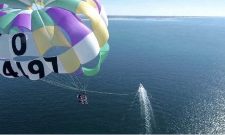 UP, UP AND AWAY | Parasailing comes to the Channel Islands Harbor