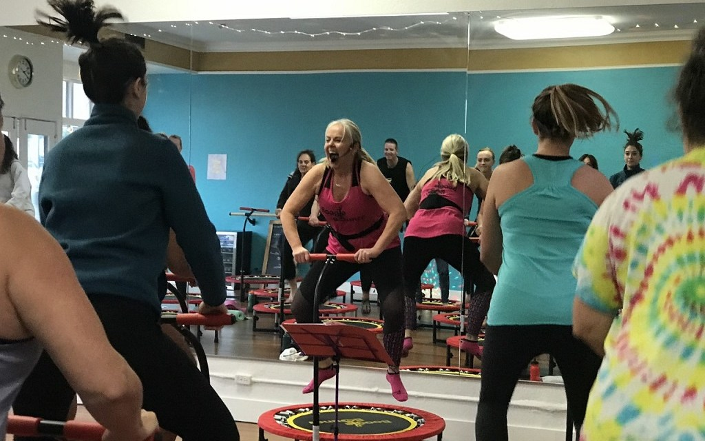 BORN TO BOUNCE | Trampoline class provides full body workout