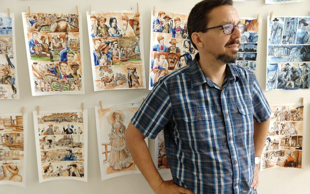 INFINITY AND BEYOND | Andres Salazar hosts gallery of eclectic comic art in Ventura