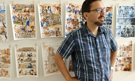 INFINITY AND BEYOND   Andres Salazar hosts gallery of eclectic comic art in Ventura