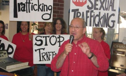 Activists take stand to stop human trafficking