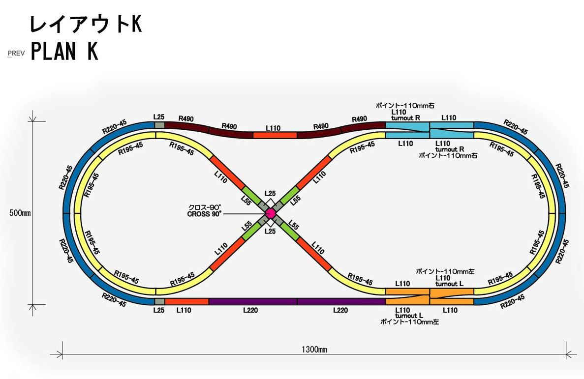 hight resolution of rokuhan z scale track plan k