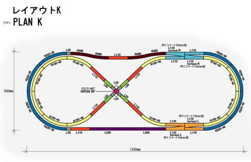 small resolution of rokuhan z scale track plan k