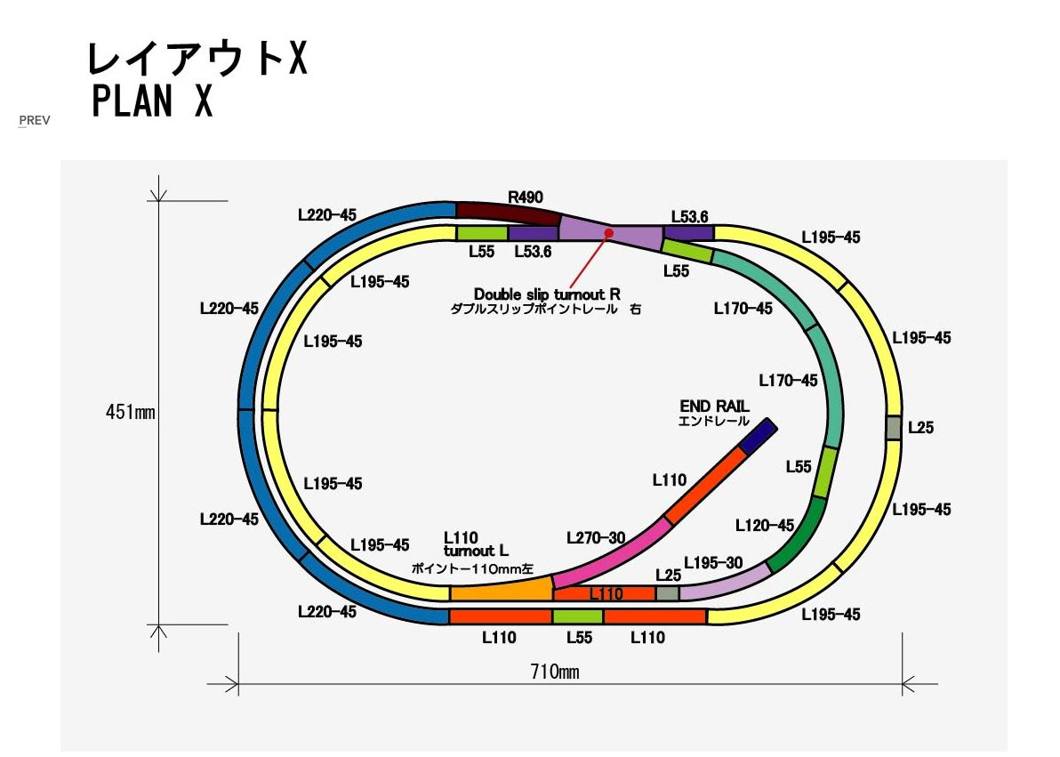 hight resolution of rokuhan layout plan x complete track set 27 9 x 17 7