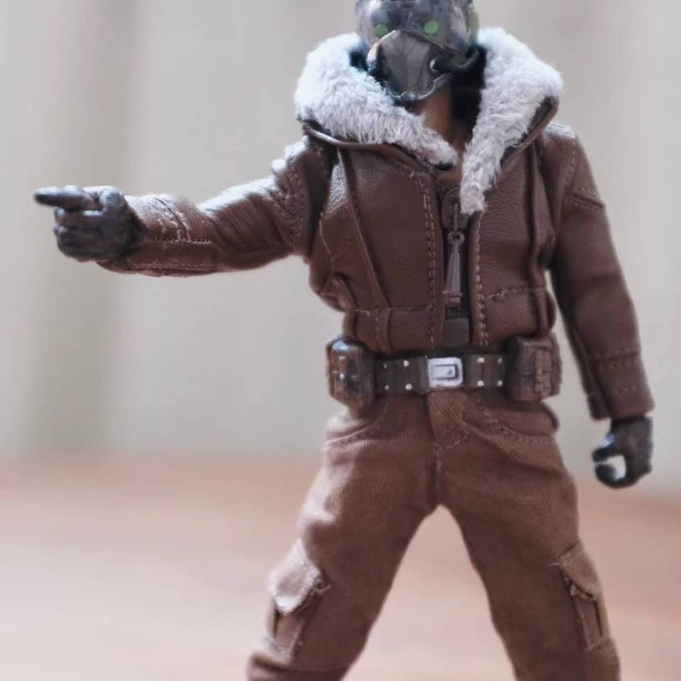 Pre-Order Customized Vulture suit for 1/12 action figures