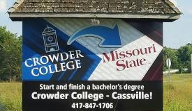 Outdoor Sign Crowder College