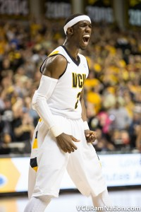 VCU's Briante Weber leads all of D1 NCAA basketball in steals percentage.