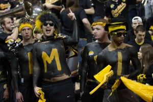 Ram fans will black out the Siegel Center in Saturday's rivalry game against Richmond.