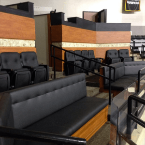 VCU's new corner suites provide a luxury option on the main level.