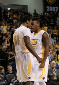 Treveon Graham and Melvin Johnson posted 22 points each in tonight's high-scoring win over Toledo.