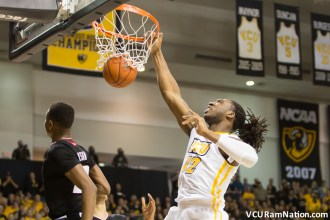 Will VCU's size advantage prove too much for Davidson tonight? Or will the Wildcats outshoot the Rams in another big Davidson home win?
