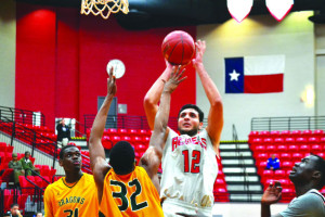 Ahmed Hamdy Mohamed comes to VCU via Lee College in Texas but is the Rams' first Egyptian-born men's basketball player.