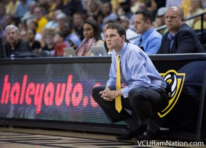 Will Wade picked up his first win as VCU head coach and will face former fellow Rams assistant Mike Jones Monday night as the Rams face the Radford Highlanders.