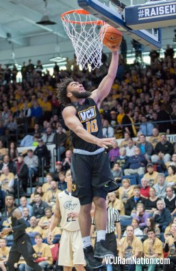 Sophomore Johnny Williams scored a career-high 17 points before leaving the game with an injury in VCU's road win at GW.