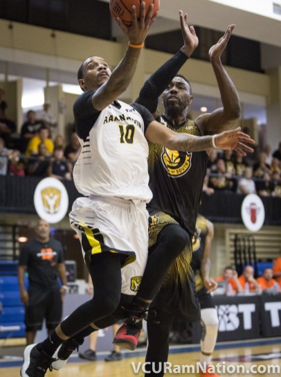 Darius Theus scored a game-high 27 points in Ram Nation's Round of 32 win over Kings of the South.