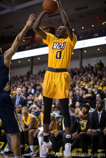 De'Riante Jenkins came off the bench to score 11 points for the Rams in VCU's comeback win at Old Dominion.