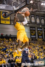 Mo Alie-Cox averaged 16.3 points in VCU's three wins over Davidson last season but was held to just 11 on 5-11 shooting against the Cats in an early A-10 loss.