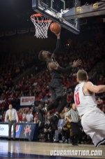 JeQuan Lewis led VCU with 16 points in the Rams most recent win over Richmond.