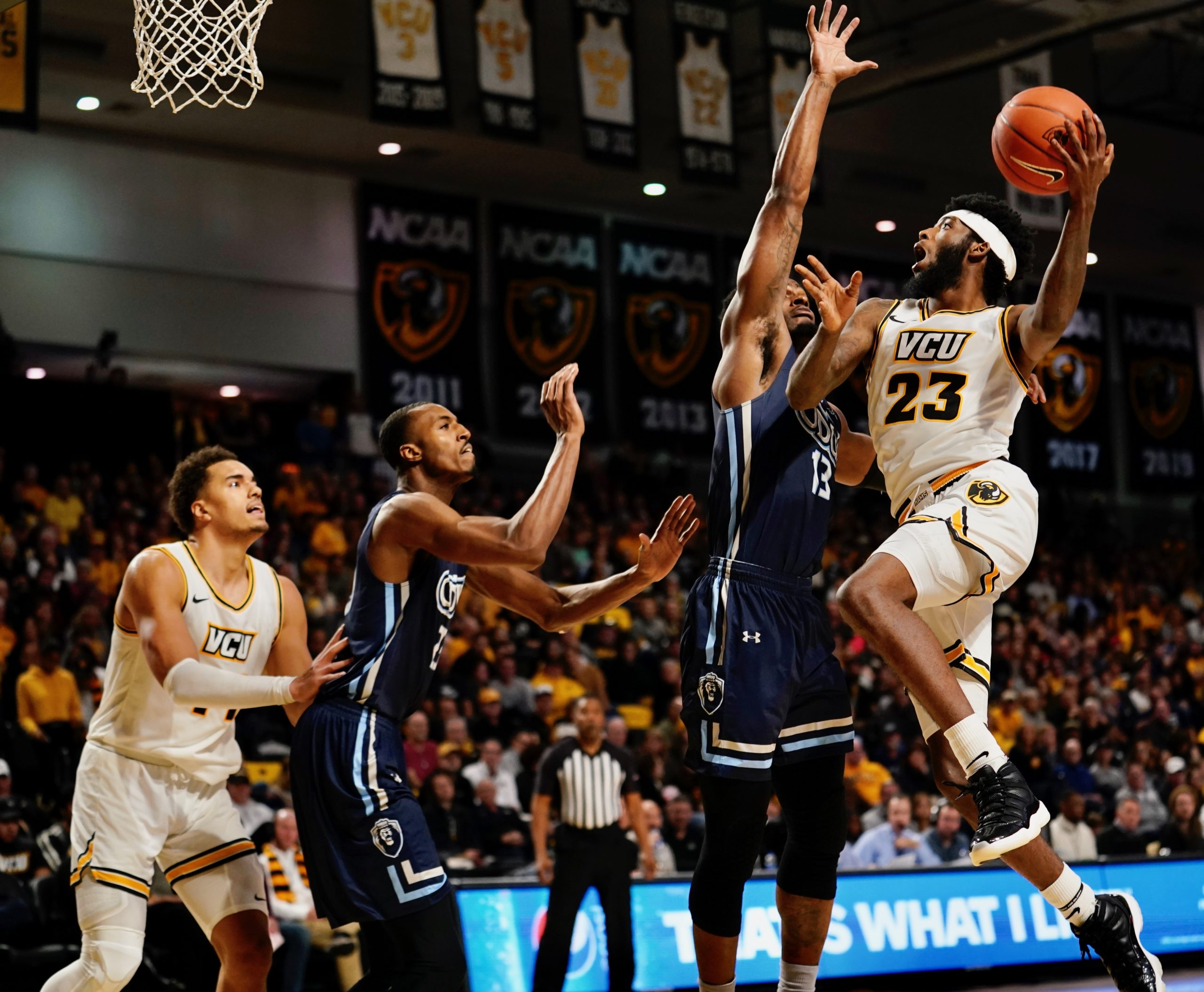 Recap: VCU Bench propels Rams past ODU, 69-57