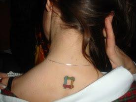 Employer Branding - Tatuerad logga