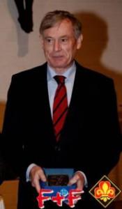Bundespräsident Horst Köhler bei der Verleihung der St. Georgs-Plakette in Berlin