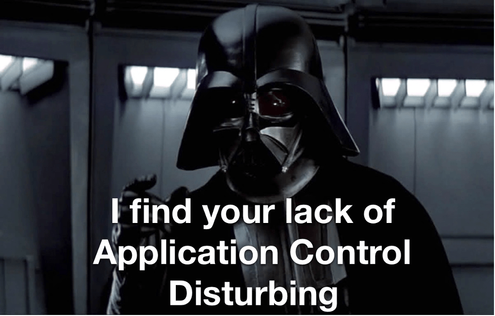 Do you Control Thy Applications?