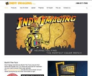 Indy Jones robot design on the website
