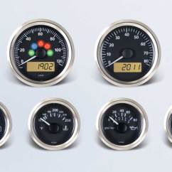 Vdo Marine Tachometer Wiring Diagram Mobile Home Service Entrance Viewline Onyx By Series Instruments Displays And Clusters