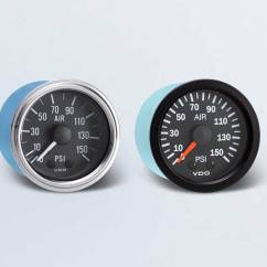 Vdo Tachometer With Hour Meter Wiring Diagram Allen Bradley 1756 Ow16i By Type Instruments Displays And Clusters Air Pressure