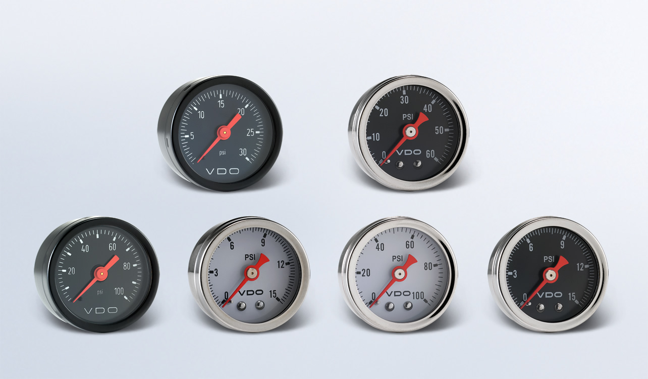 hight resolution of mini pressure gauges