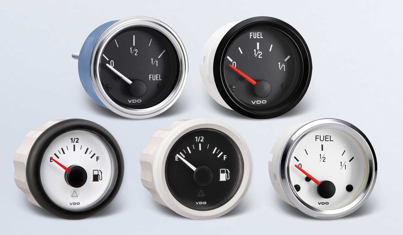 hight resolution of fuel by type instruments displays and clusters vdo instruments and accessories