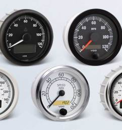 speedometer by type instruments displays and clusters vdo instruments and accessories [ 1284 x 750 Pixel ]