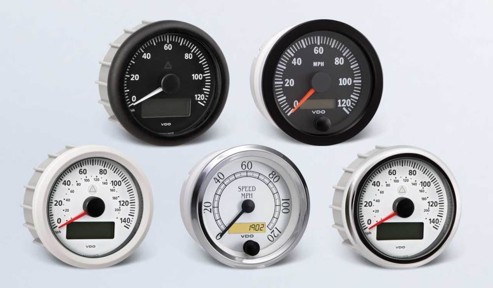 medium resolution of speedometer by type instruments displays and clusters vdo instruments and accessories